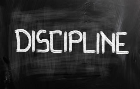 discipline: Discipline Concept Stock Photo