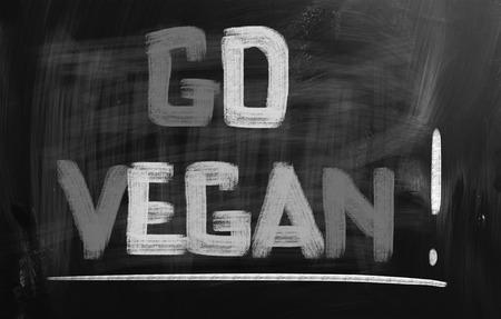 concep: Go Vegan Concep