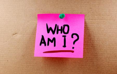 Wer bin ich Konzept