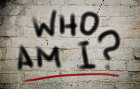 Wer bin ich-Konzept Standard-Bild