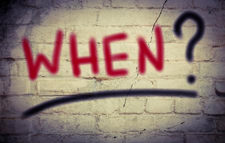 when: When Concept