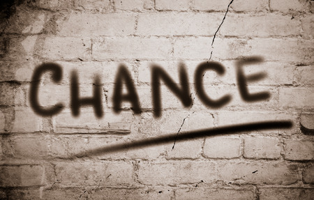 Chance Concept Stock Photo