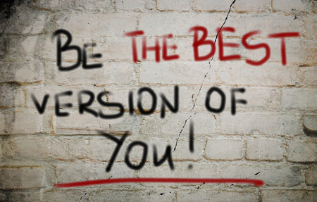 mindful: Be The Best Version Of You Concept