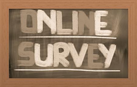 Online Survey Concept photo