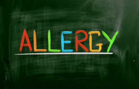 hypersensitivity: Allergy Concept Stock Photo