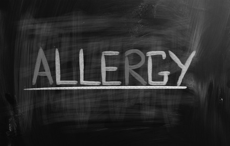 hypersensitivity: Allergy Concept Stock Photo