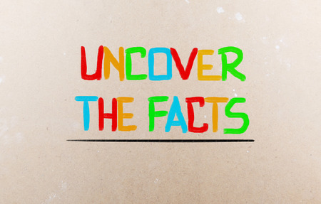 misleading: Uncover The Facts Concept