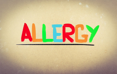 Allergy Concept photo