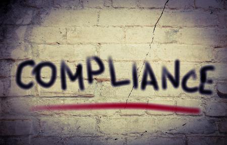 Compliance Concept photo