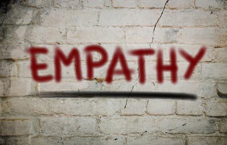 empatia: Empat�a Concept Foto de archivo