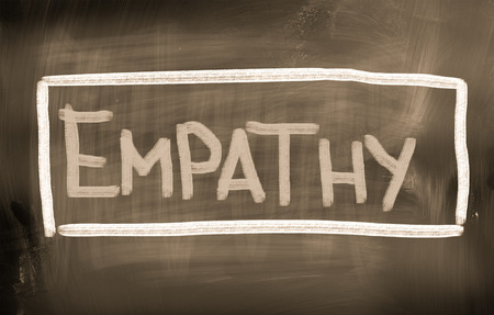 humanism: Empat�a Concept Foto de archivo