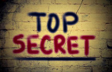 Top Secrect Concept photo