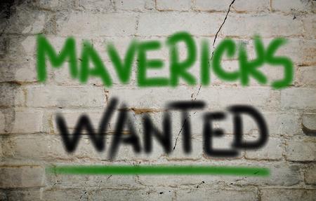 unorthodox: Mavericks Wanted Concept