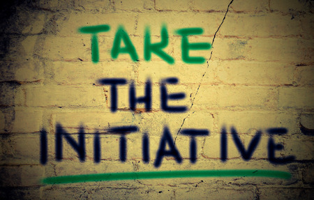 initiative: Take The Initiative Concept