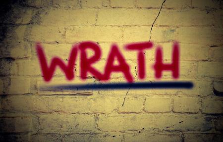 wrath: Wrath Concept Stock Photo