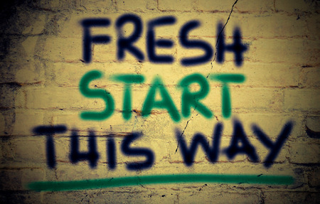 frisse start: Fresh Start This Way Concept
