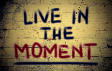 mindful: Live In The Moment Concept