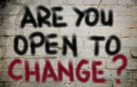 willing: Are You Open To Change Concept
