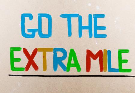 exceeding: Ir La Milla Extra Concept
