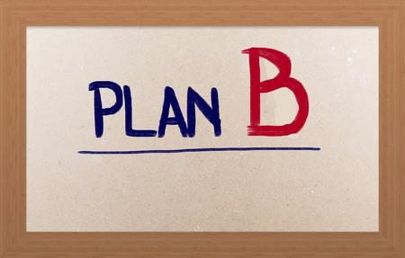 jargon: Plan B Concept