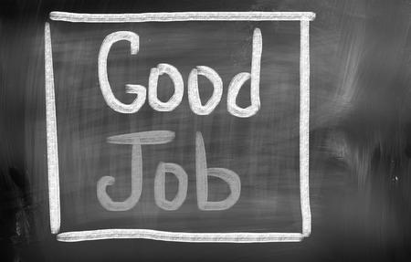 assert: Good Job Concept