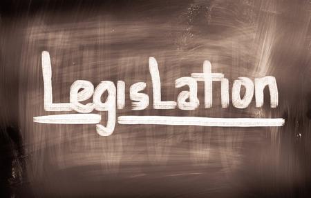 lawfulness: Legislation Concept