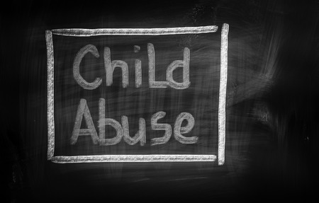 Child Abuse Concept photo