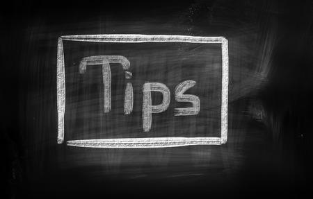 Tips Concept photo