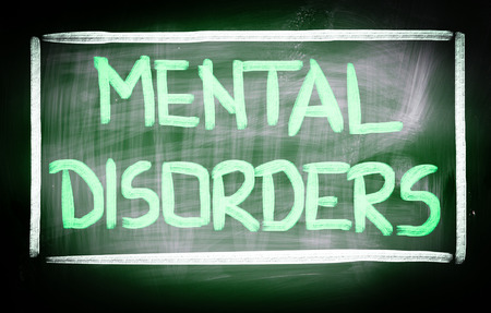 stimulation: Mental Disorders Concept