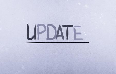 Update Concept photo