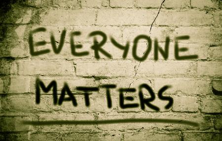 everyone: Everyone Matters Concept