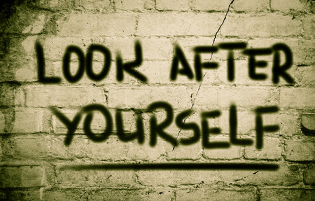 look after: Look After Yourself Concept