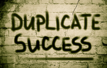 jargon: Duplicate Success Concept