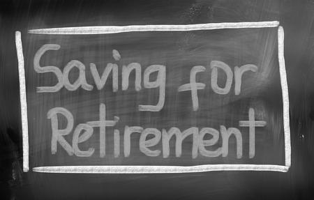 Saving For Retirement Concept photo