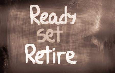 prendre sa retraite: Ready Set retraite Concept