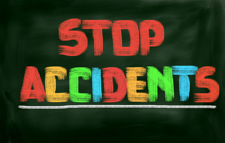 Stop Accidents Concept photo