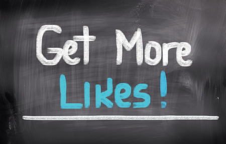 likes: Get More Likes Concept