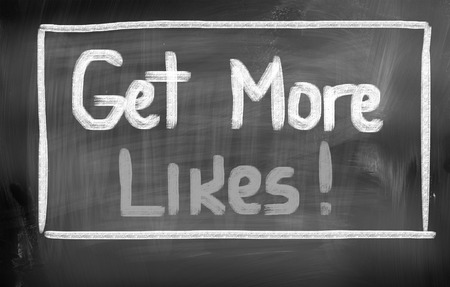 Get More Likes Concept photo