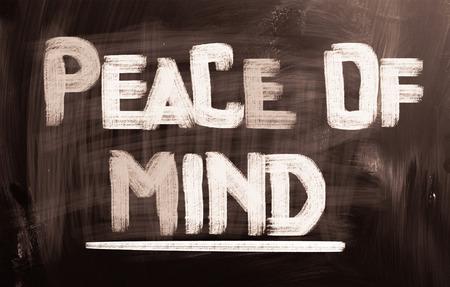 cognition: Piece Of Mind Concept