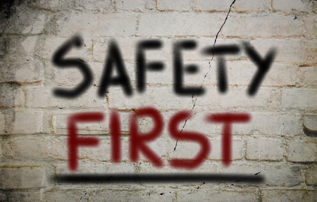 safety first: Safety First Concept