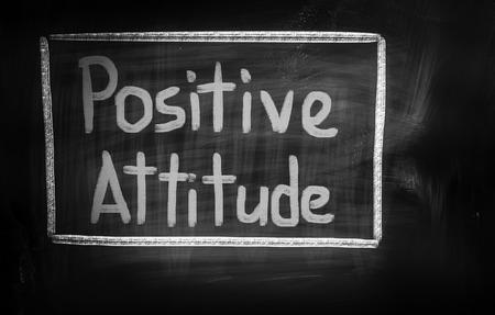 actitud positiva: Actitud Positiva Foto de archivo