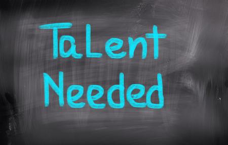 recruit help: Talent Needed Concept Stock Photo