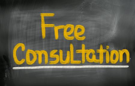 Free Consultation Concept photo