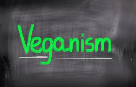 diet plan: Veganism Concept