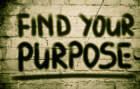 philosophical: Find Your Purpose Concept