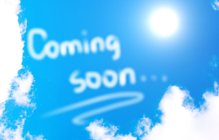 www at sign: Coming Soon Concept