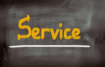 cause marketing: Service Concept Stock Photo