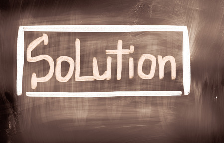 the solution: Solution Concept