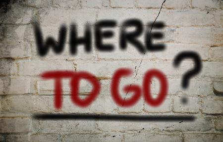 where to go: Where To Go Concept