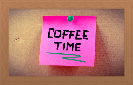 coffee time: Coffee Time Concept